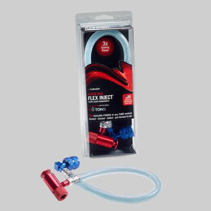 SUPER-SEAL FLEX INJECT HOSE, A/C LEAK SEALANT FOR USE WITH