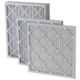 "10"" x 20"" x 1"" PLEATED AIR FILTER, MERV-8"
