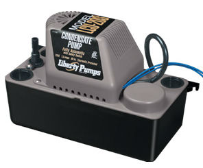 LIBERTY CONDENSATE PUMP 115V AUTOMATIC WITH SAFETY SWITCH