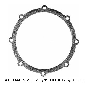 M+M 47 BOWL GASKET, 37-26, USED IN: 47, 147, 247,
